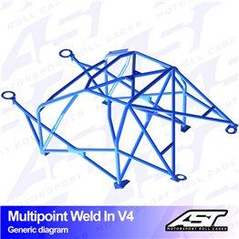 VW Scirocco (Mk3) 3-doors Hatchback MULTIPOINT WELD IN V4