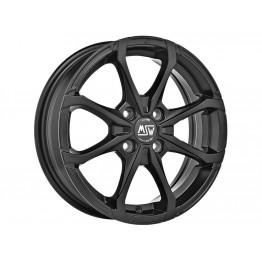 ADAPTABLE SMART  MSW X4 6X16 4x100 ET44 MATT BLACK